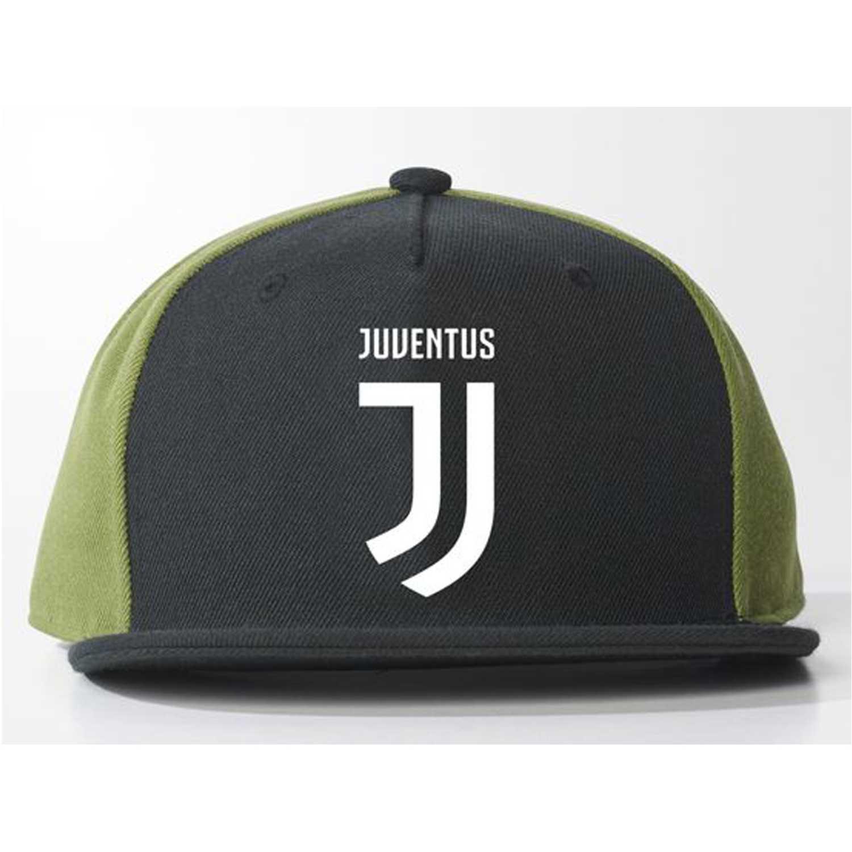 new style 02b60 321d1 Gorro de Hombre Adidas Negro   olivo juve flat cap