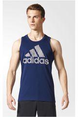 adidas Azul / Gris de Hombre modelo BOS TANK Bividis Deportivo