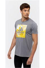 adidas Gris / Amarillo de Hombre modelo FREELIFT LOGO Deportivo Polos
