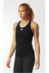 adidas Negro / Blanco de Mujer modelo ASPIRE TANK Bividis Deportivo