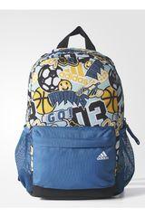 adidas Azul / Amarillo de Niño modelo LB GR BP Mochilas