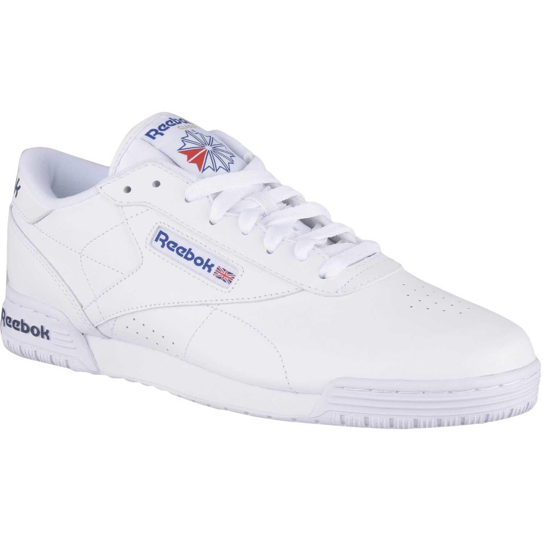 Zapatilla de Hombre Reebok Blanco/azulino exofit lo clean logo int