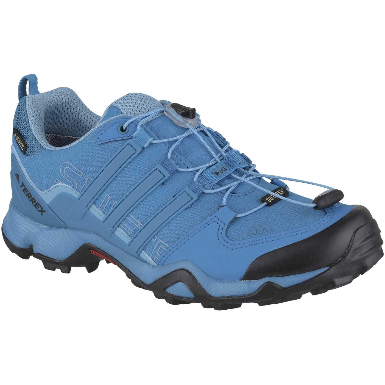 sports shoes 1ba9c 07467 Zapatilla de Mujer Adidas Celeste   negro terrex swift r gtx w