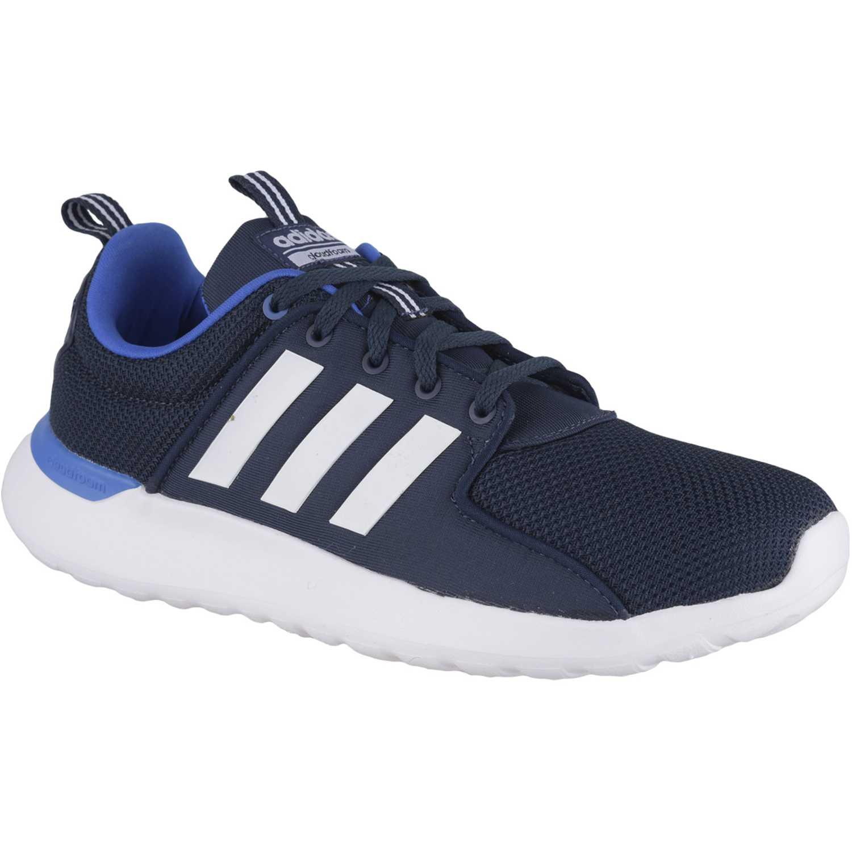 Adidas Racer lite - Zapatillas para Hombre, Color Rojo/Lima, Talla 39 1/3