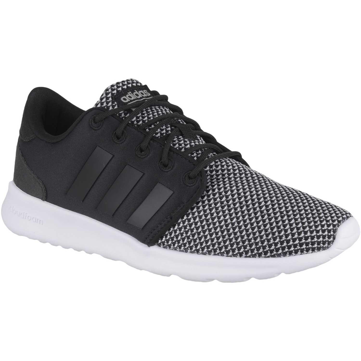 check out 0a594 8001f Zapatilla de Mujer adidas NEO Negro gris cf qt racer w