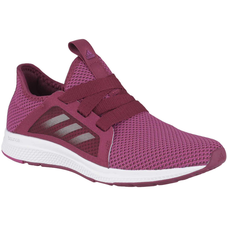 hot sale online 4d411 b9e38 Zapatilla de Mujer Adidas Lila  blanco edge lux w