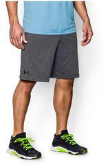 Under Armour Plomo / Negro de Hombre modelo UA RAID 8 SHORT Shorts Deportivo