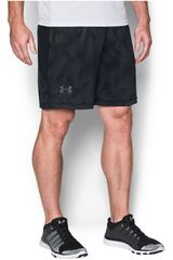 Under Armour Plomo / Negro de Hombre modelo UA RAID 8 NOVELTY SHORT Shorts Deportivo