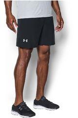 Under Armour Negro / Plomo de Hombre modelo HEATGEAR RUN 7 WOVEN SHORT Shorts Deportivo