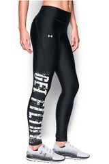 Under Armour Negro / Blanco de Mujer modelo FLY BY LEGGING GET FILTHY Deportivo Leggins