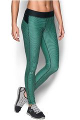 Leggin de Mujer Under Armour Verde / Negro UA HG ARMOUR PRINTED LEGGING