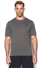 Under Armour Plomo / Negro de Hombre modelo UA THREADBORNE SS Polos Deportivo Camisetas