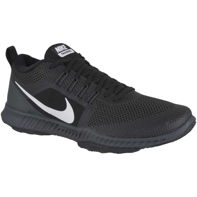 best service fe4c5 ebb41 Zapatilla de Hombre Nike Negro   Blanco zoom domination tr