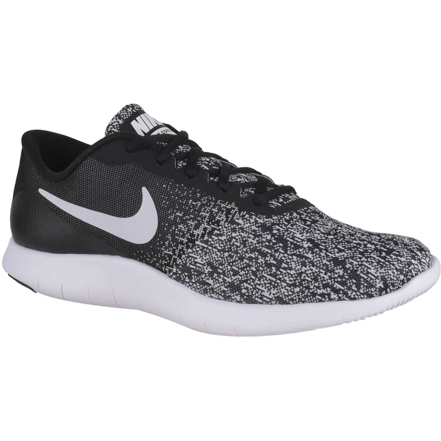 the latest 74f4b f3a70 Zapatilla de Hombre Nike Negro  blanco flex contact