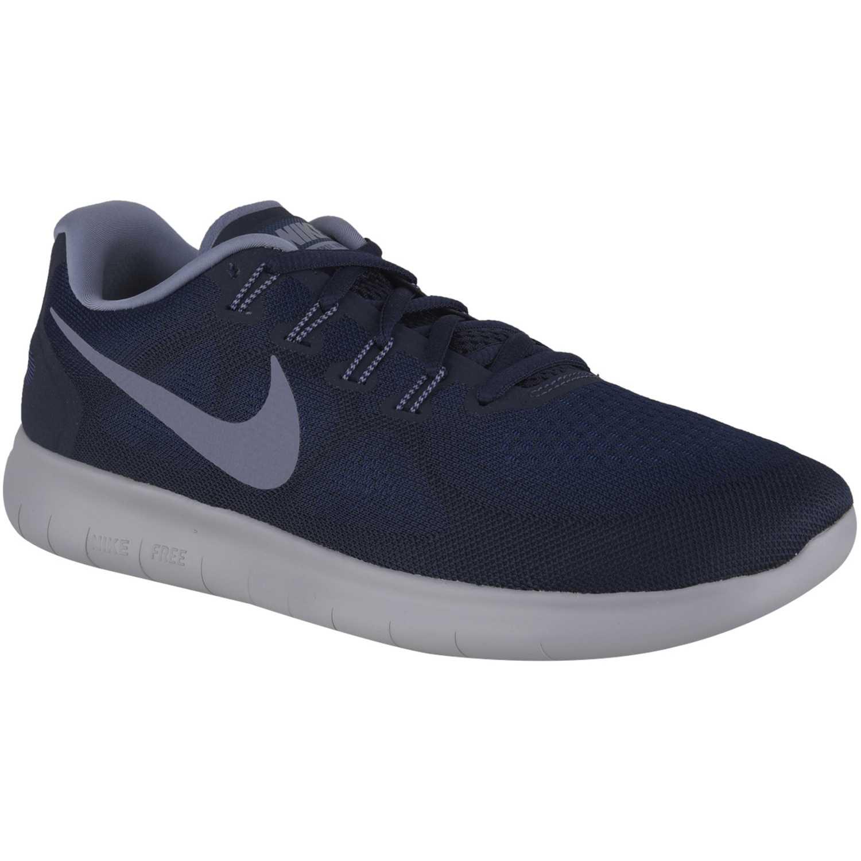 Zapatilla Botín de Hombre Nike Acero   blanco free rn 2017 ... 857a815ad9d90