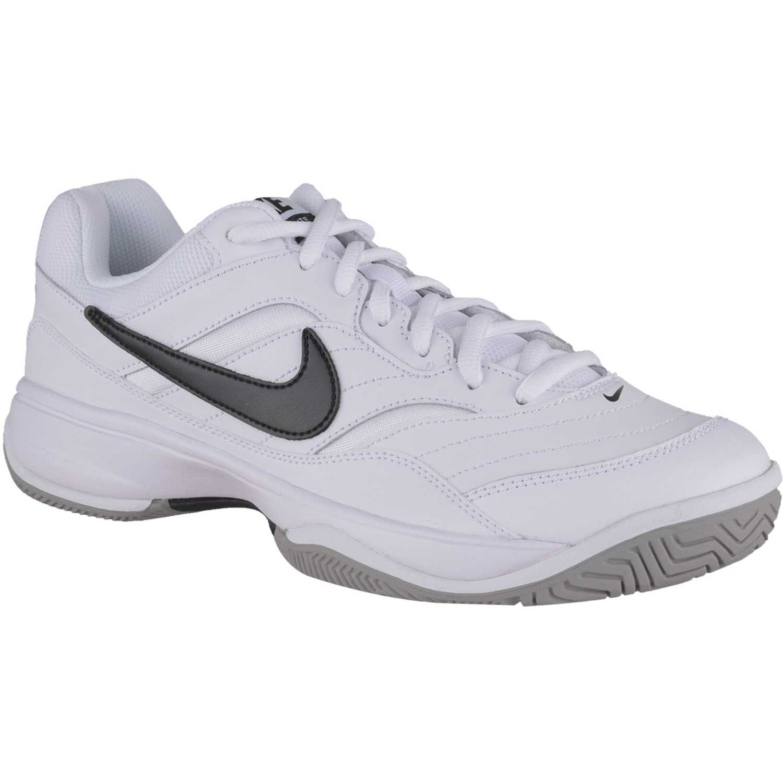 4ea1d93db29 Zapatilla de Hombre Nike Blanco   negro court lite