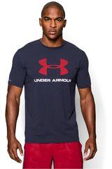 Polo de Hombre Under Armour Acero / rojo cc sportstyle logo