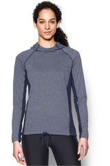 Under Armour AC/PL de Mujer modelo THREADBORNE TRAIN HOOD TWIST Poleras Deportivo