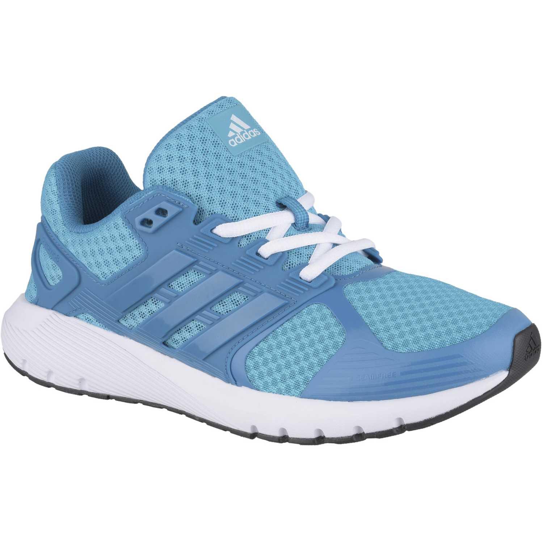 sports shoes d4455 eb9cd Zapatilla de Mujer Adidas Turquesa  blanco duramo 8 w
