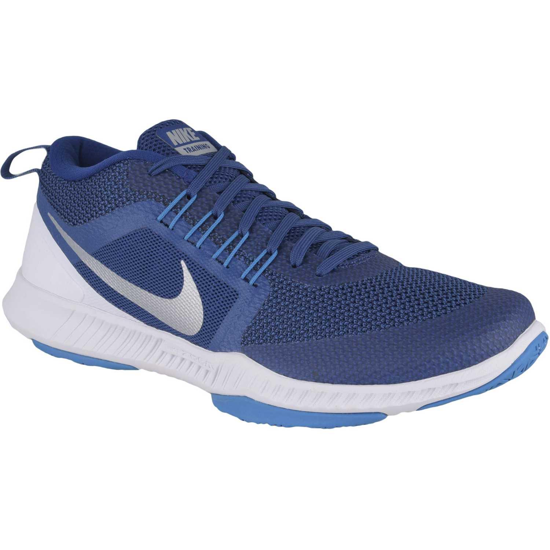 7ef0f1345d433 Zapatilla de Hombre Nike Azul   blanco zoom domination tr ...