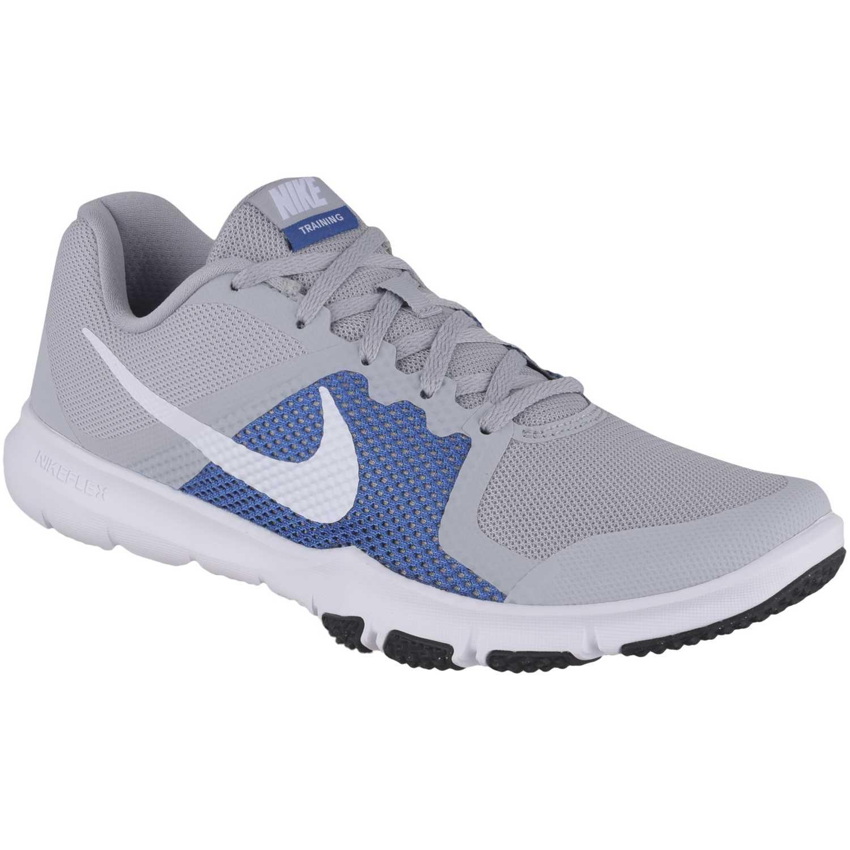 Zapatilla de Hombre Nike Gris / azul flex control