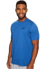 Under Armour Azul / Negro de Hombre modelo UA THREADBORNE 3C TWIST SS Deportivo Polos