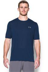 Under Armour Acero / Gris de Hombre modelo UA THREADBORNE SS Camisetas Deportivo Polos