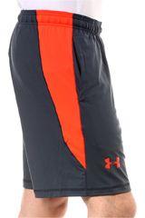 Under Armour Plomo / Naranja de Hombre modelo UA RAID 8 SHORT Deportivo Shorts