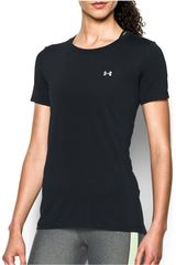 Polo de Mujer Under Armour Negro / blanco ua hg armour ss