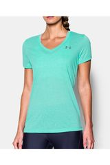 Under Armour Esmeralda de Mujer modelo THREADBORNE TRAIN SSV TWIST Deportivo Polos