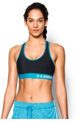Under Armour Negro / Celeste de Mujer modelo ARMOUR MID BRA Deportivo Tops