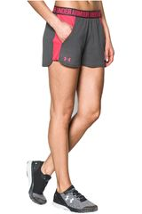Under Armour Gris / Coral de Mujer modelo NEW PLAY UP SHORT Deportivo Shorts