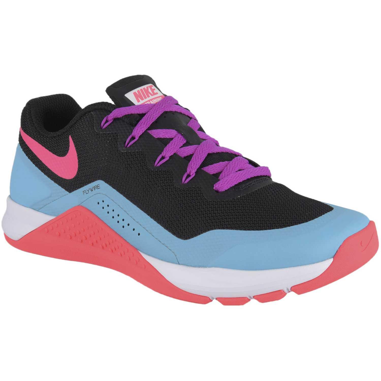 Zapatilla de Mujer Nike Negro / Celeste wmns metcon repper dsx
