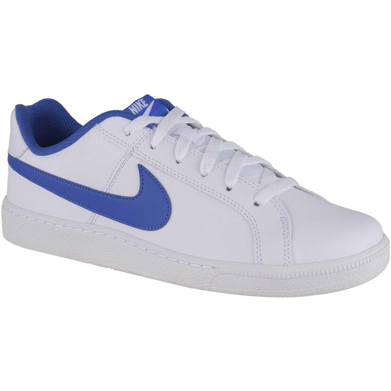 e3d5b71e0 Zapatilla de Hombre Nike Blanco   azul court royale