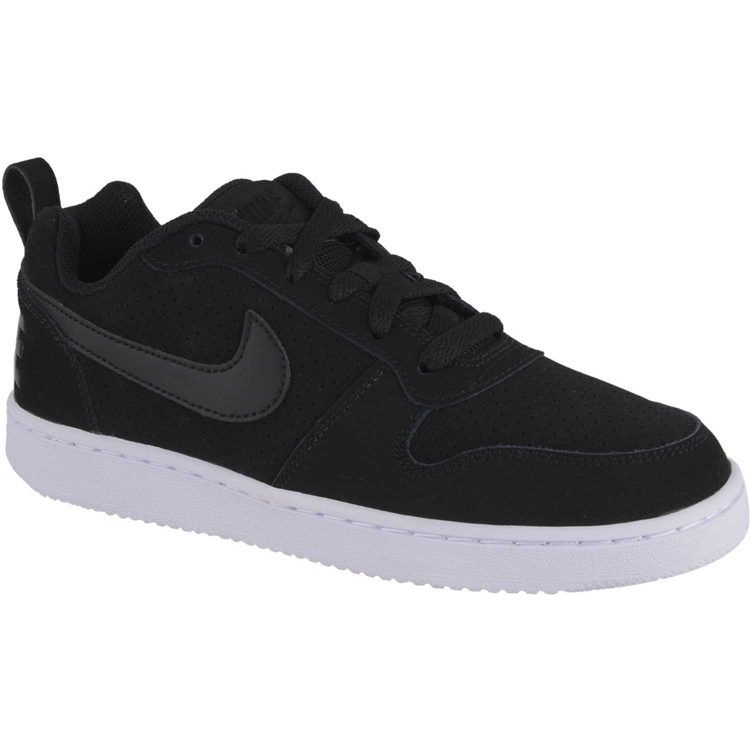 Zapatilla Court Borough Low Negra Nike 5T0AlLdzVO
