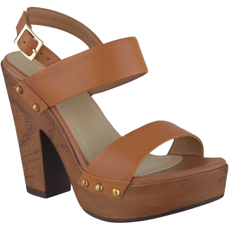 Sandalia Plataforma de Mujer Limoni - Cuero Camel sp 2418101