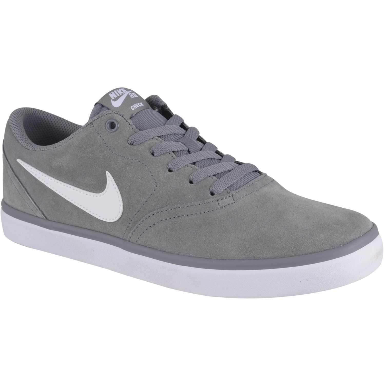 36cdc9ae Nike Gris / blanco de Hombre modelo sb check solar Casual Deportivo Skate Zapatillas  Zapatillas casual