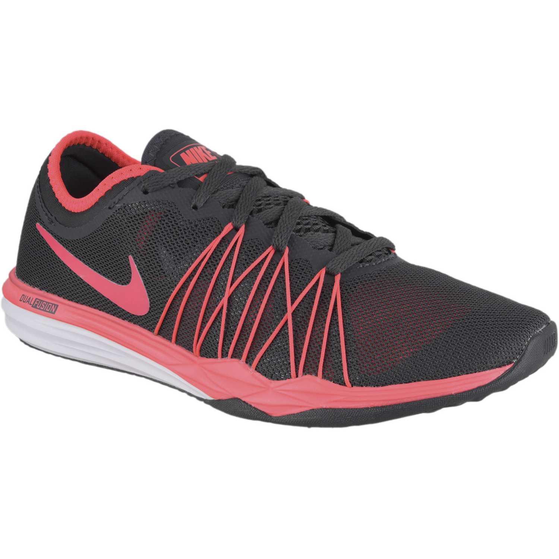 online store 4bbf5 9bb02 Zapatilla de Mujer Nike Negro   coral wmns dual fusion tr hit