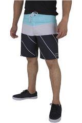 Billabong Celeste / Negro de Hombre modelo TRIBONG X Shorts Casual