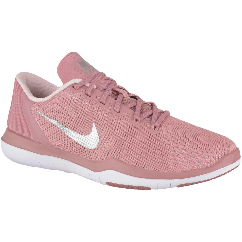 2c4f5157553ed Zapatilla de Mujer Nike Rosado   blanco wmns flex supreme tr 5 bionic