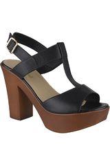 Limoni - Cuero Negro de Mujer modelo SP 2718102 Tacos Sandalias Plataformas
