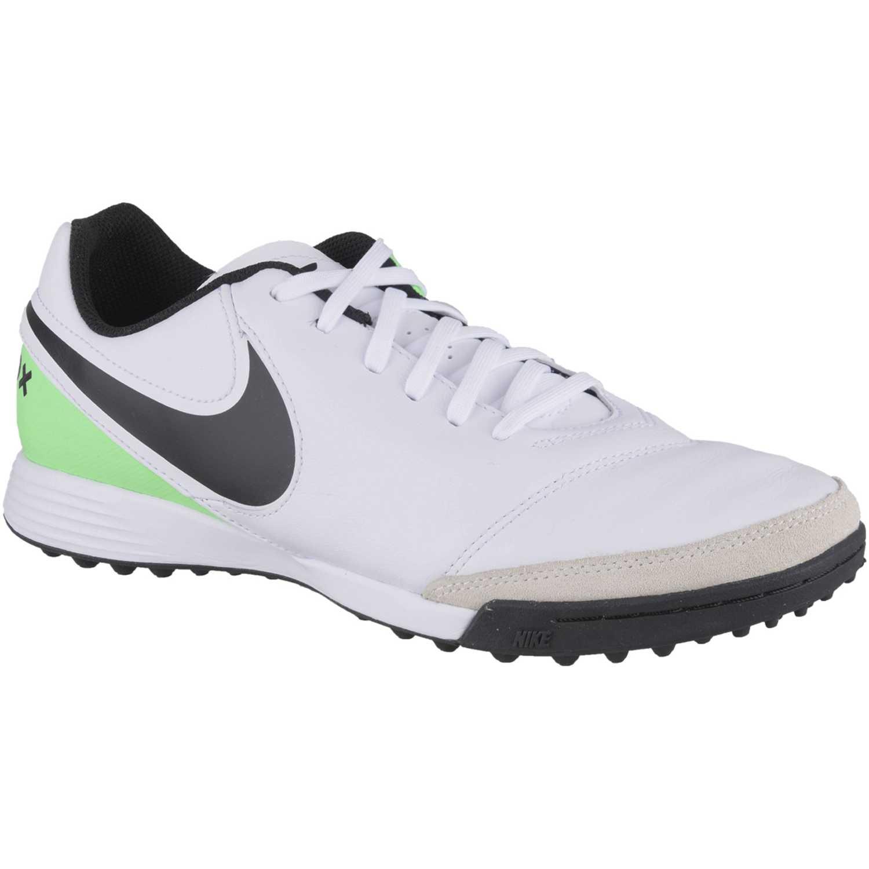 b9334557ad491 Zapatilla de Hombre Nike Blanco   negro tiempox genio ii leather tf ...