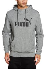 Puma Gris / Negro de Hombre modelo ESS NO.1 HOODY TR Poleras Deportivo