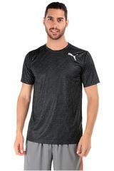 Puma Negro / Blanco de Hombre modelo ESSENTIAL TECH GRAPHIC TEE Deportivo Polos