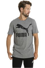Puma Gris de Hombre modelo ARCHIVE LOGO TEE PRINT Deportivo Polos