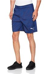 Puma Azul / Blanco de Hombre modelo GRAPHIC WOVEN SHORT 8 Shorts Deportivo