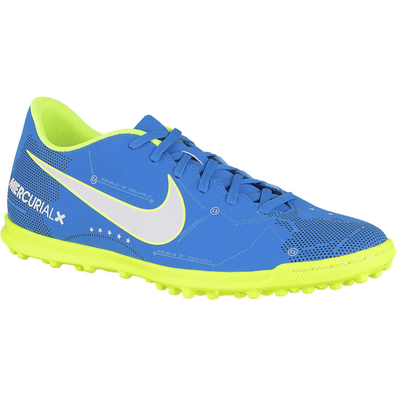 brand new 91f4a f3380 Zapatilla de Hombre Nike Celeste   verde mercurialx vortex iii njr tf