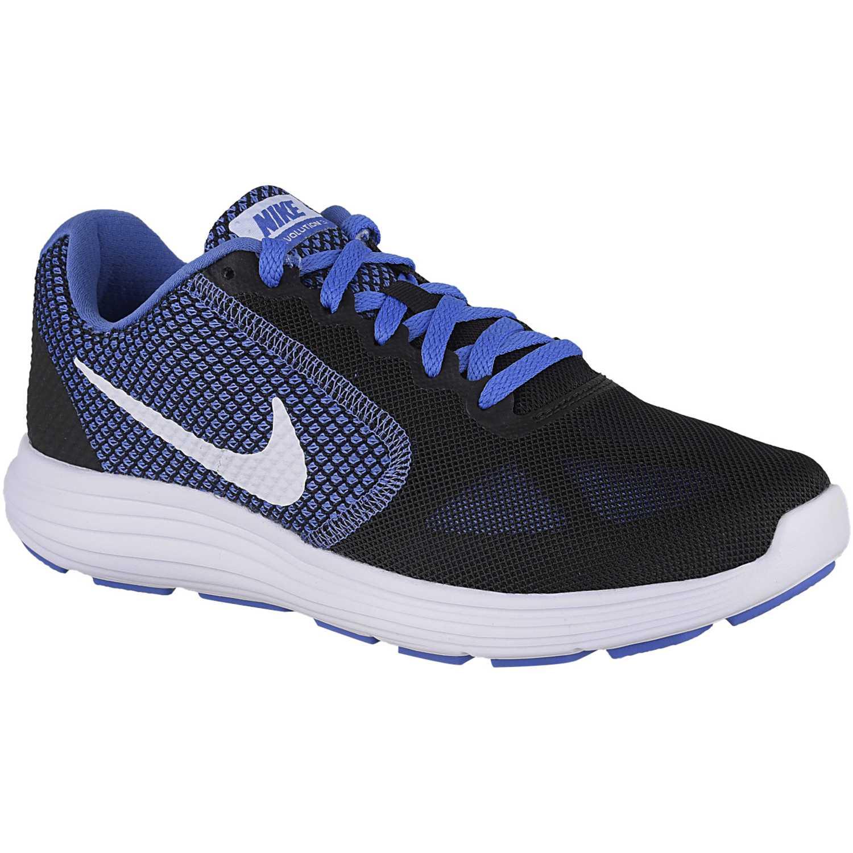 online retailer 862af 8d586 Zapatilla de Mujer Nike Negro   azulino wmns revolution 3