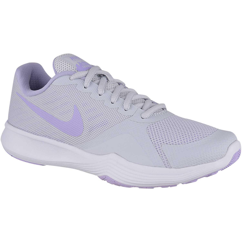 Zapatilla de Mujer Nike Gris   lila wmns city trainer  37cc61aa050