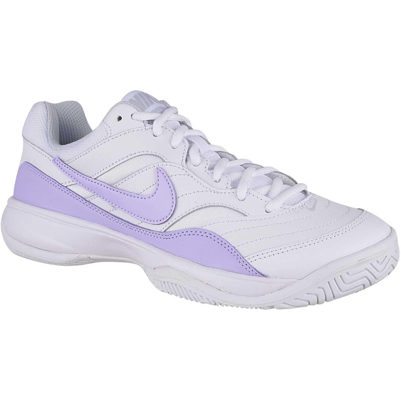 a73c4c3935c Zapatilla de Mujer Nike Blanco   lila wmns court lite
